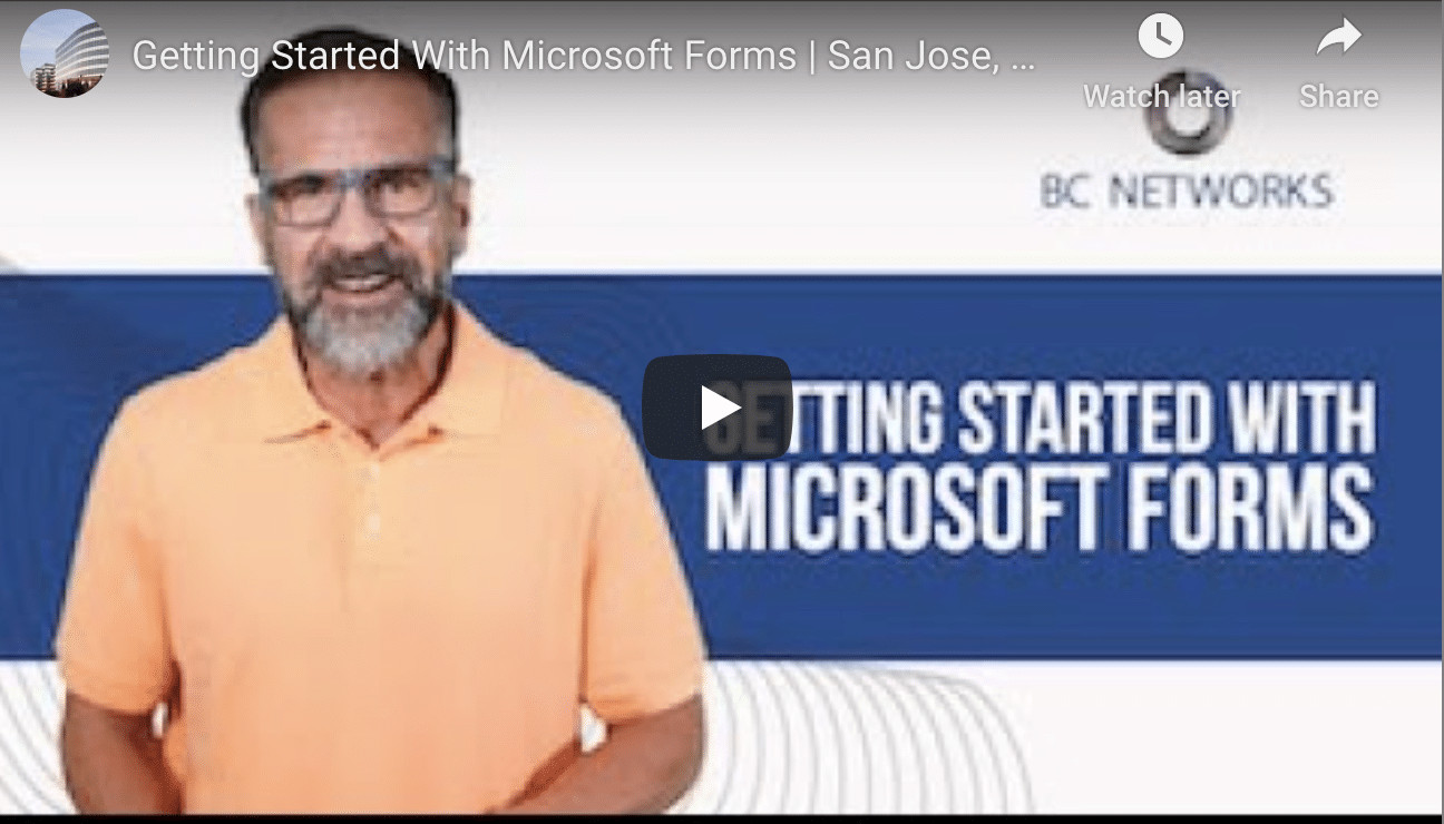 A Beginner's Guide to Microsoft Forms