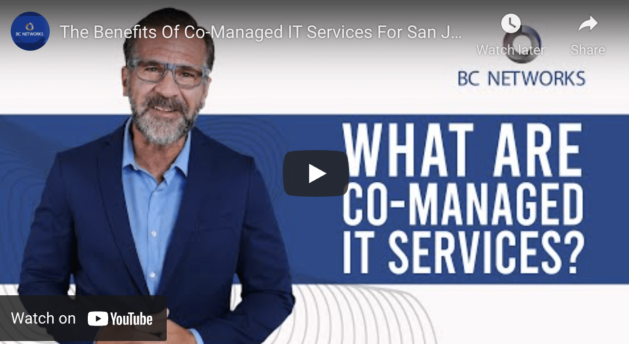 Co-Managed IT Services In San Jose