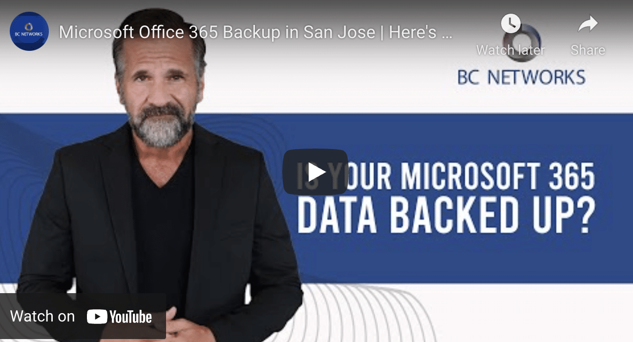 Why You Need a Backup Solution for Microsoft 365